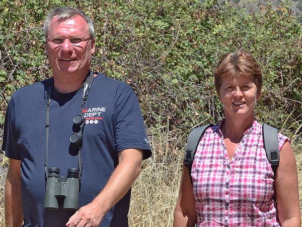 Corné y Lia, Finca el Rabilargo, Extremadura